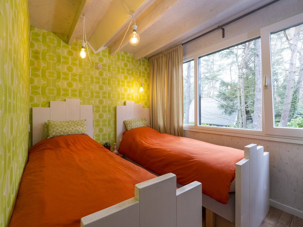 slaapkamer 2  1e verd 2 pers